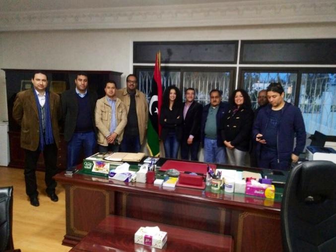 Rencontre avec Monsieur l'Ambassadeur de la Libye au Maroc Rabat, le 14 février