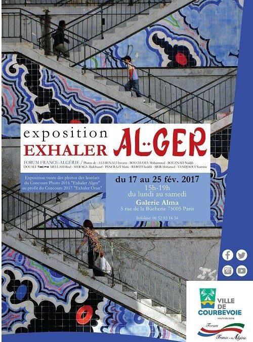 Exposition Exhaler – Alger à Paris du 17 au 25 février 2017